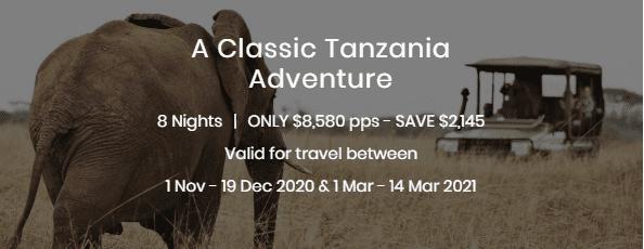 A Classic Tanzania Adventure Special