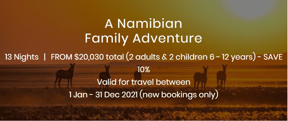 A Namibian Family Adventure