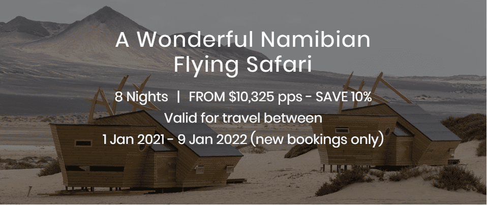 A Wonderful Namibian Flying Safari
