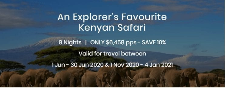 An Explorers Favourite Kenyan Safari
