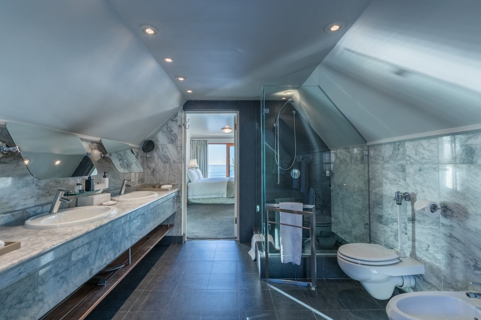 Bathroom at the Ellerman House
