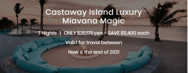 Castaway Island Luxury Miavan Magic