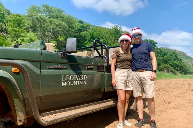 Christmas on Safari at Leopard Mountain Lodge