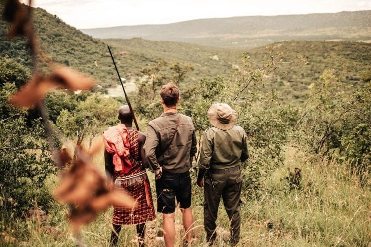 Cottars Bush Camp Bush Walk with a Masai Guide