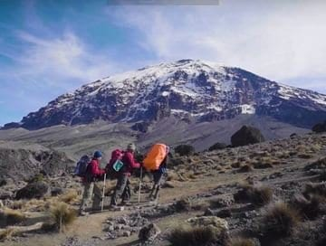 The use of Emergency Oxygen Systems on Mount Kilimanjaro