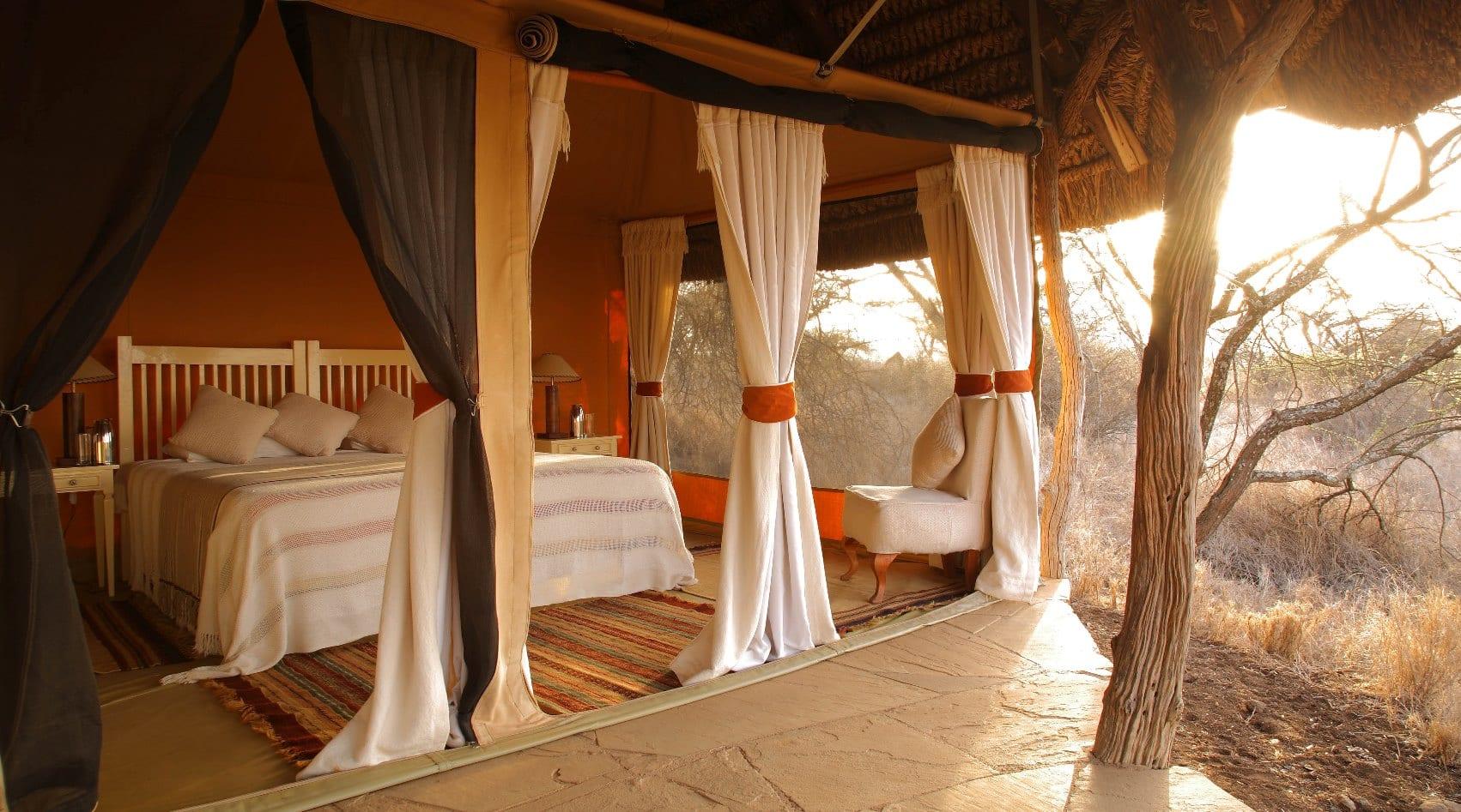 Elewana Lewa Safari Camp Double Tent