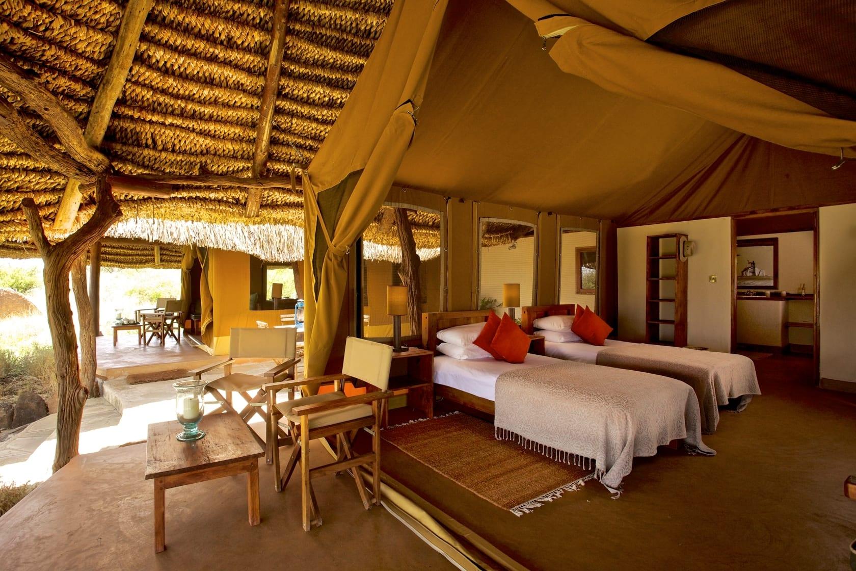Elewana Lewa Safari Camp Family Tent