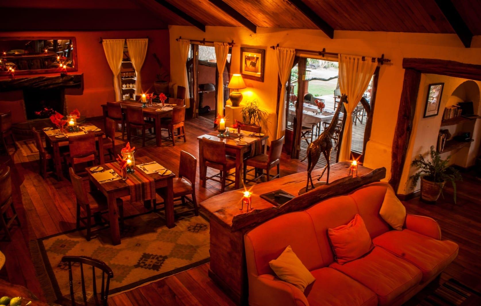 Elewana Lewa Safari Camp Main Area