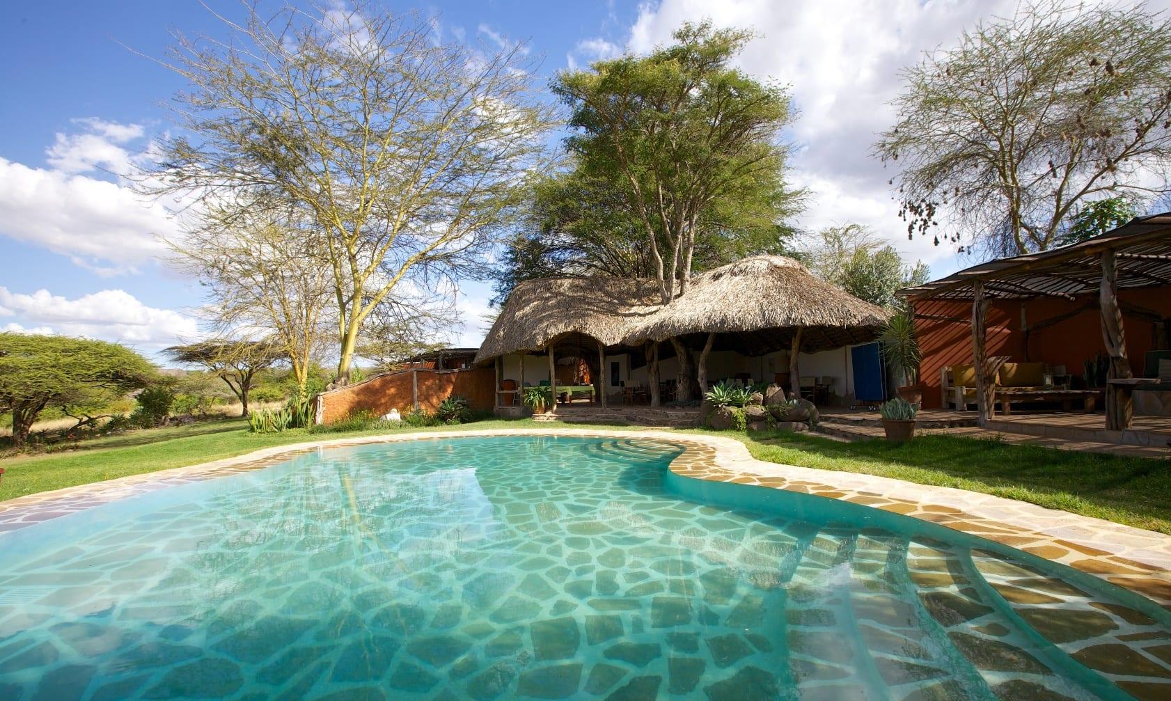 Elewana Lewa Safari Camp Pool Area