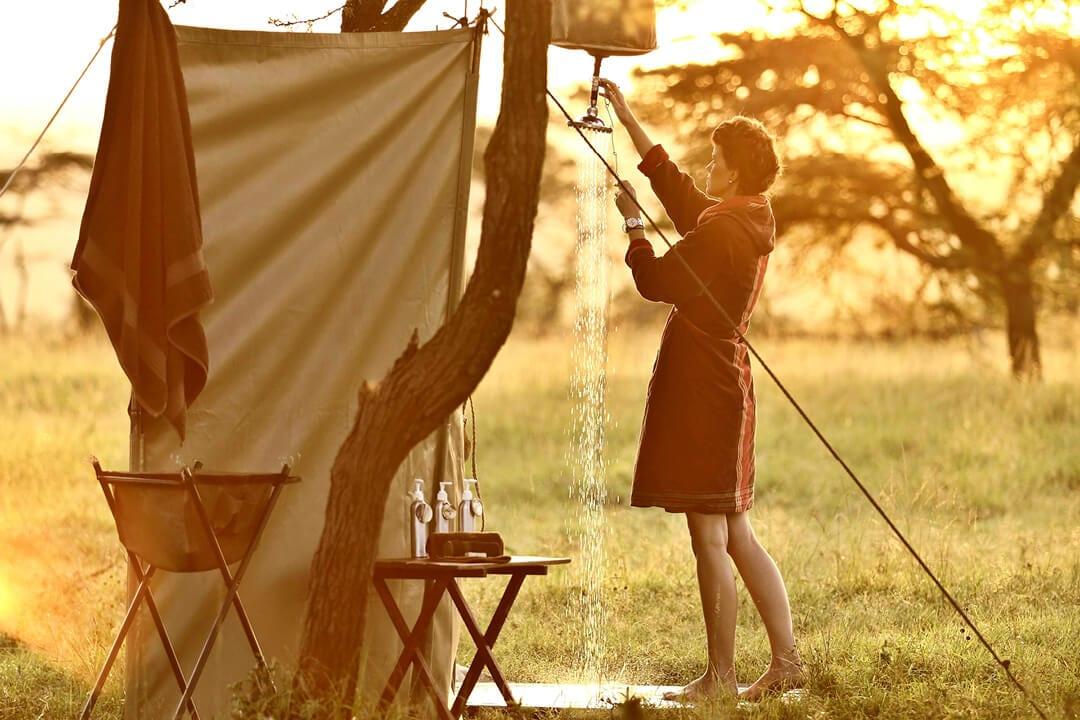 Encounter Mara Outdoor Shower