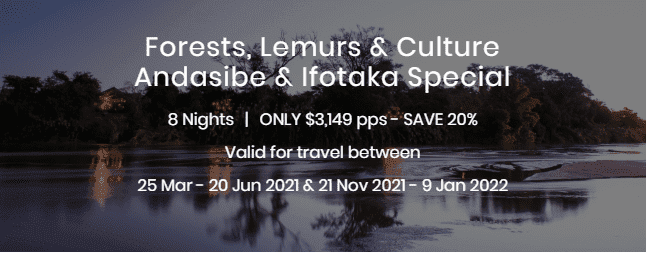 Forests Lemurs and Culture Andasibe and Ifotaka Special