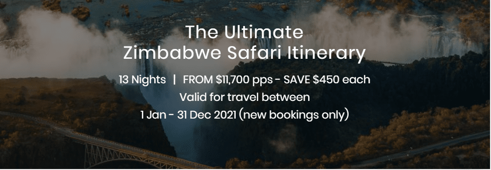 Iconic Zimbabwe Safari Special Offers