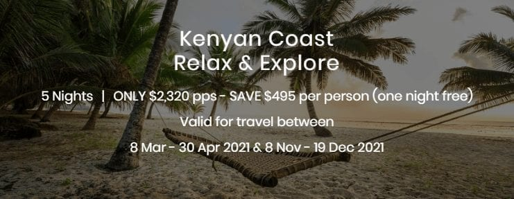 Kenyan Coast Relax and Explore