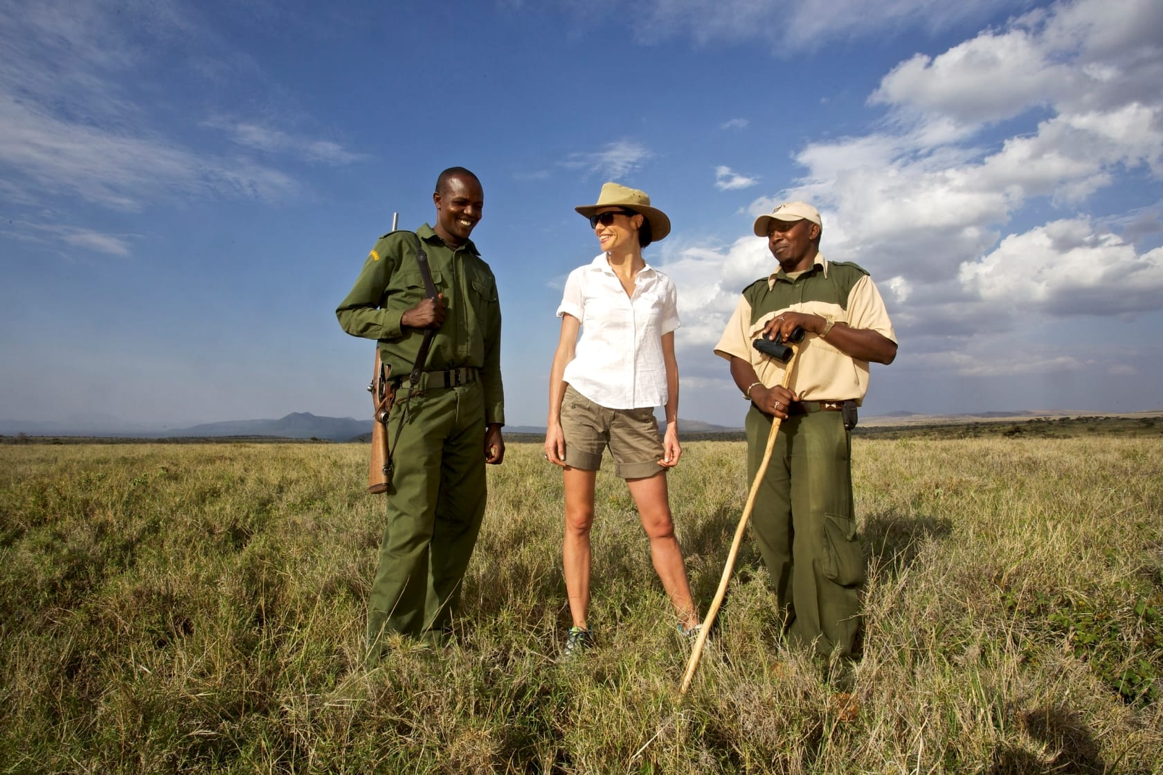 Lewa Safari Camp Bush Walking Activity