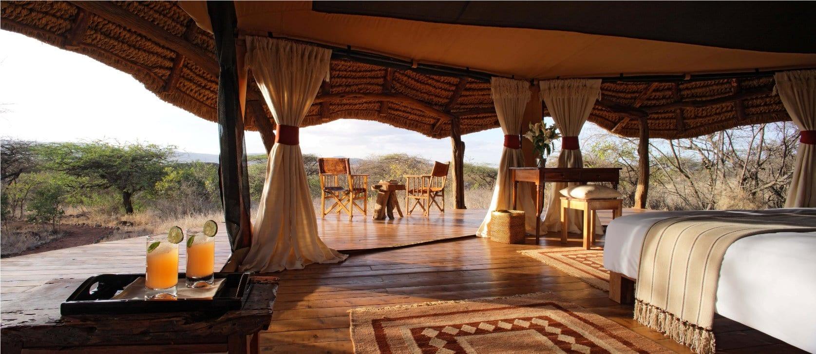 Lewa Safari Camp - Tent Interior 41