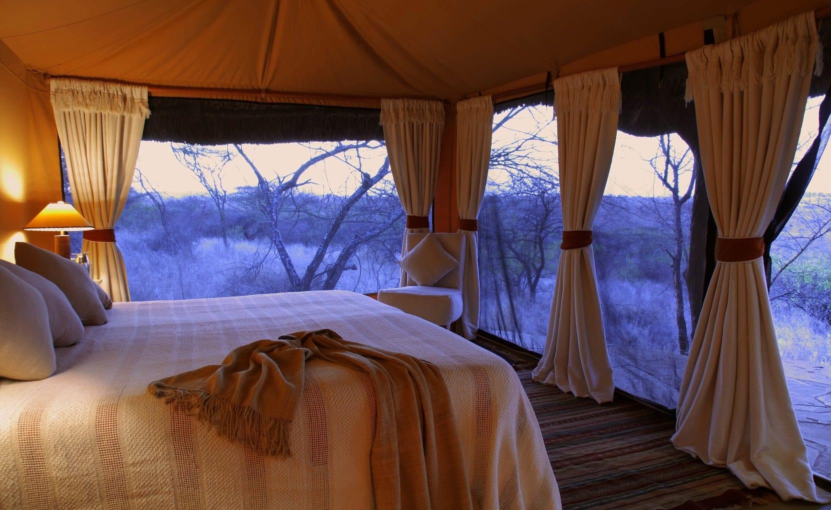 Lewa Safari Camp - Tent Interior