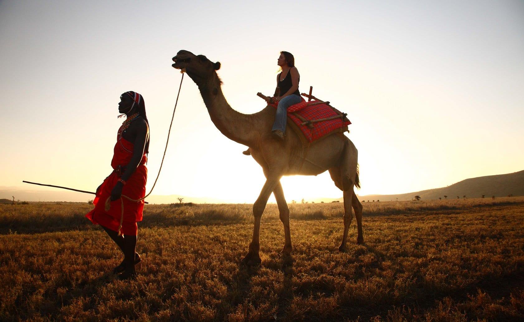 Lewa Safari Camp camel trekking