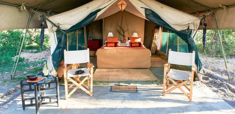 Luxury Rooms Ubuntu Camp Tanzania