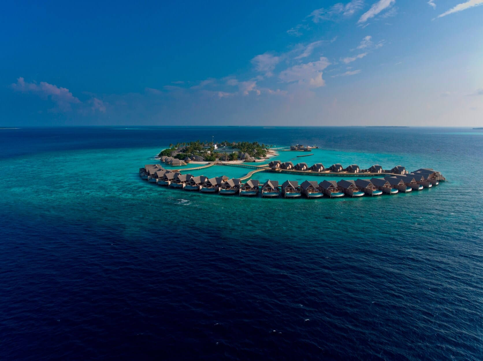 Milaidho Maldives aerial