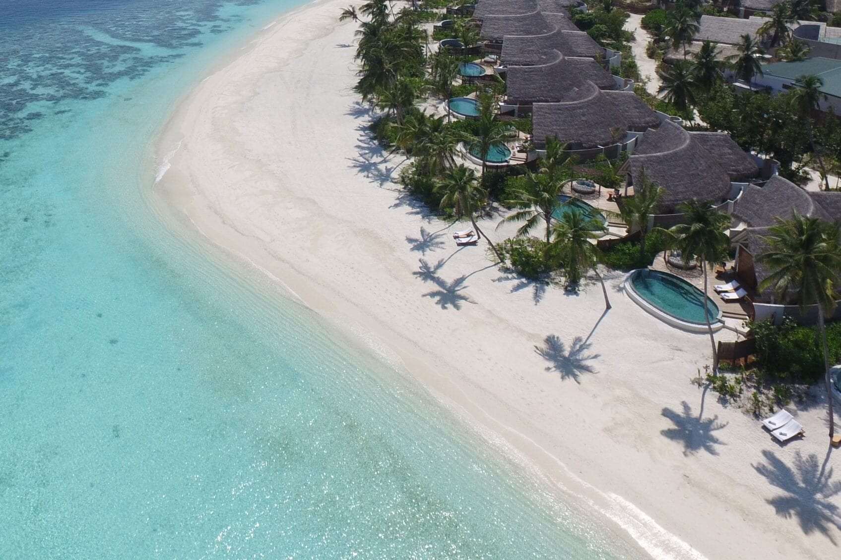 Milaidhoo Maldives Aerial Pictures
