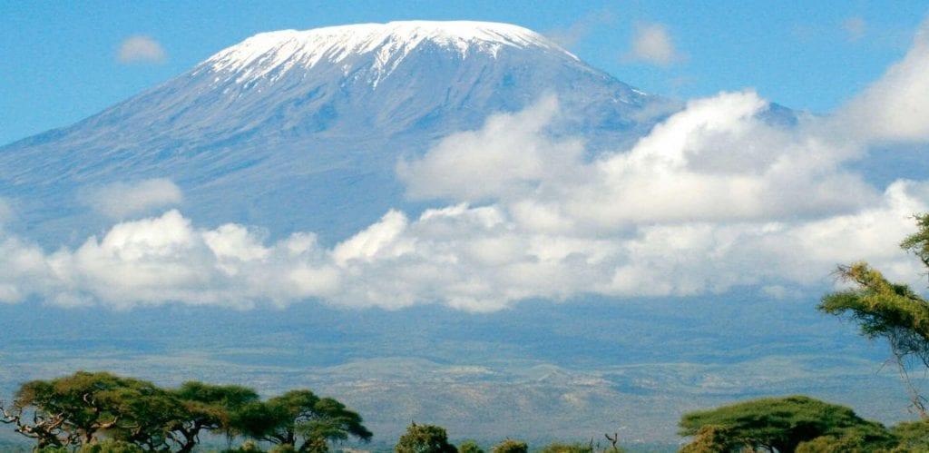 Where does the name Kilimanjaro originate
