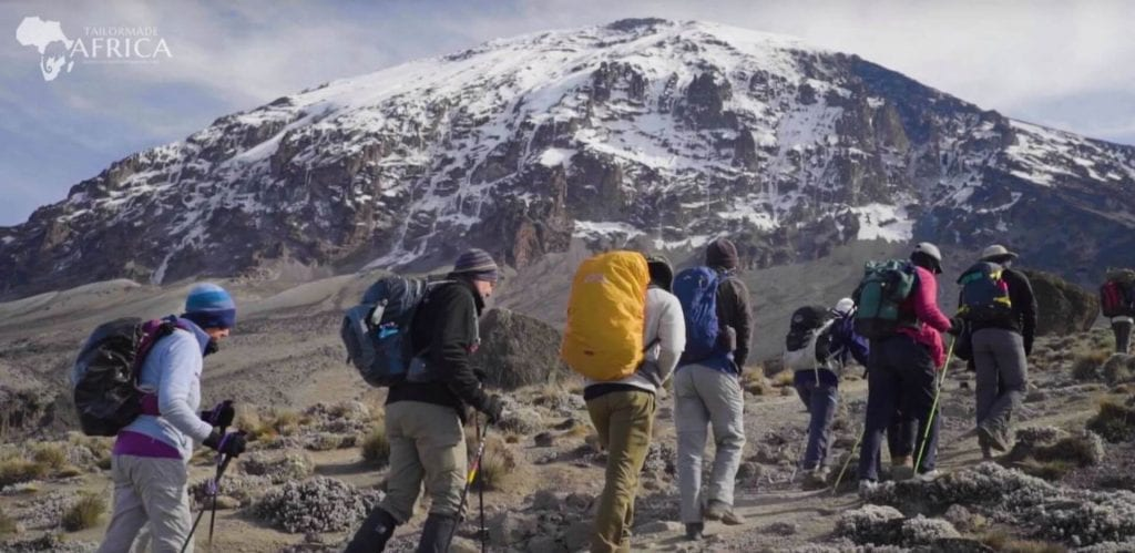 The different types of altitude sickness on Mount Kilimanjaro
