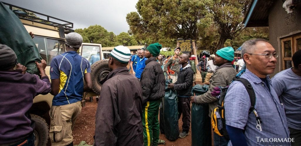 Mount Kilimanjaro guide teams and staff welfare