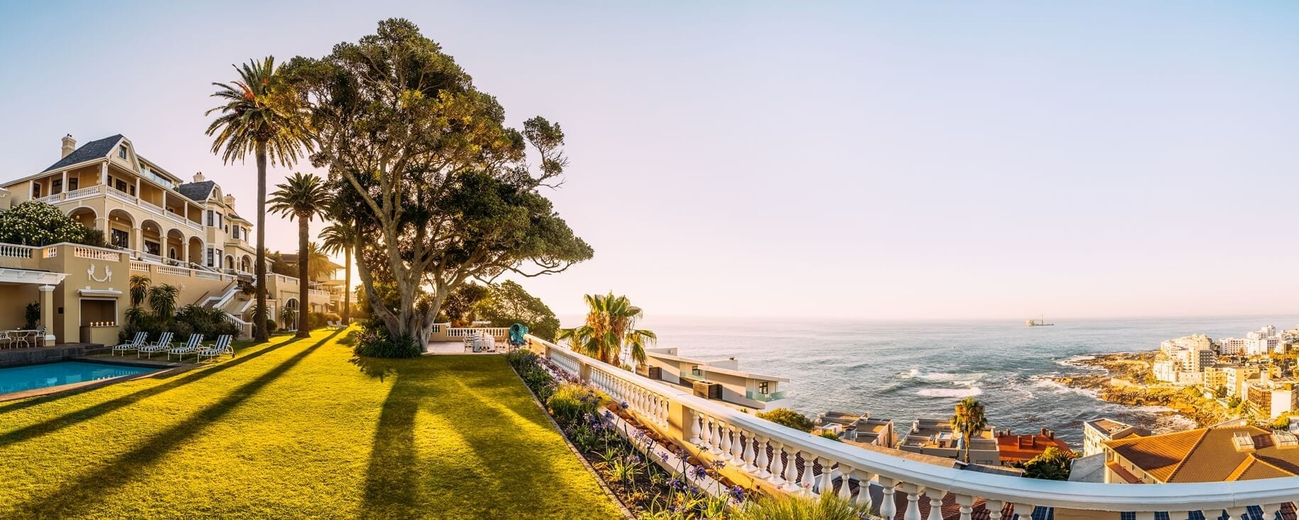 Panoramic view from Ellerman House
