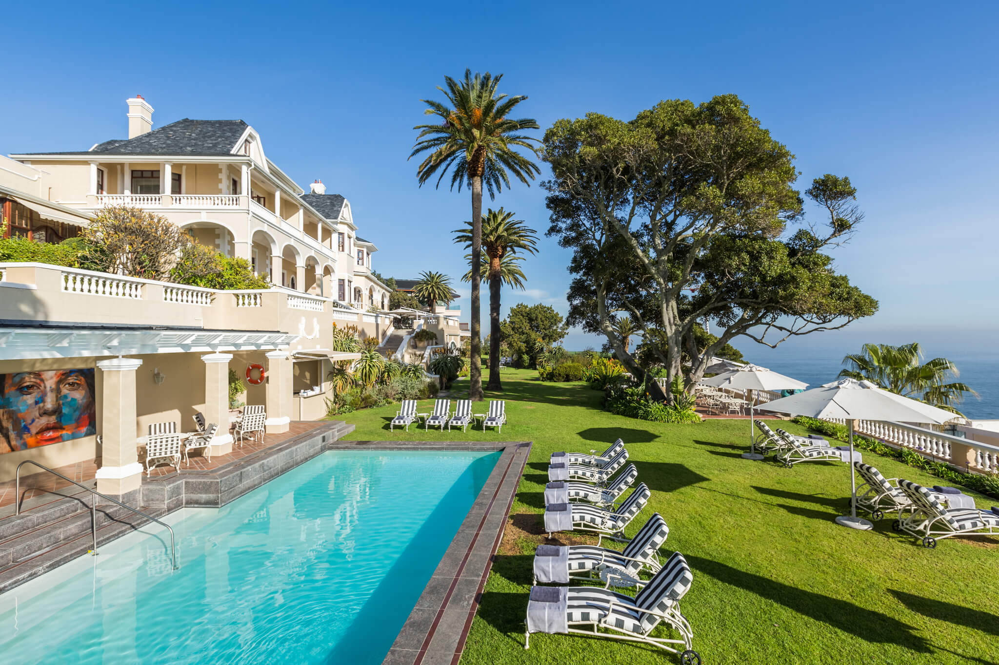 Pool Area at the Ellerman House