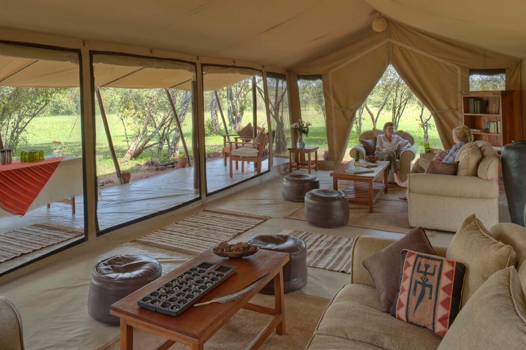Public Lounge Area at Encounter Mara