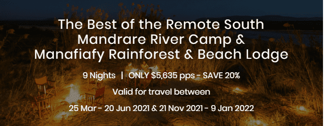 Remote South - Mandrare River and Manafiafy Lodge