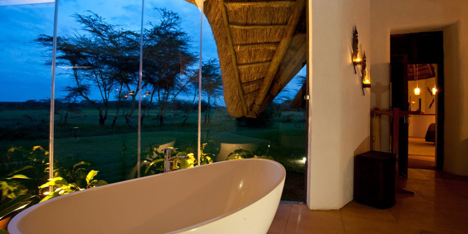 Kenya Solio Lodge Bathroom