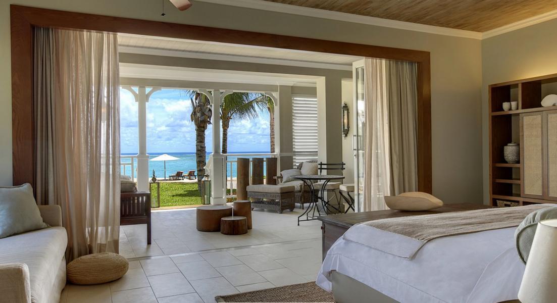 St Regis Mauritius Bedroom