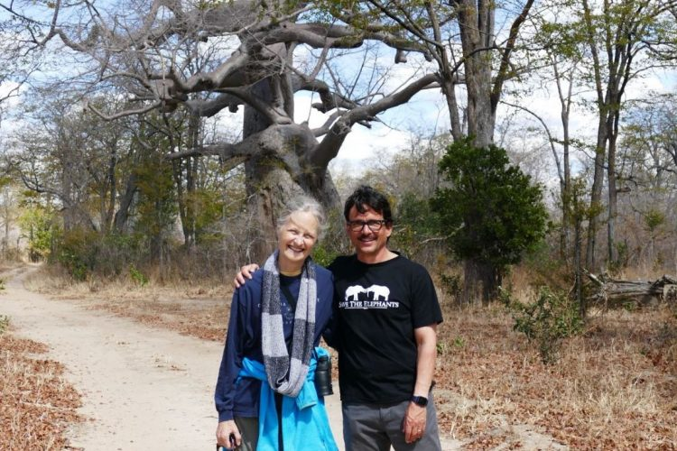 Sue & Bill in Zimbabwe August 2021
