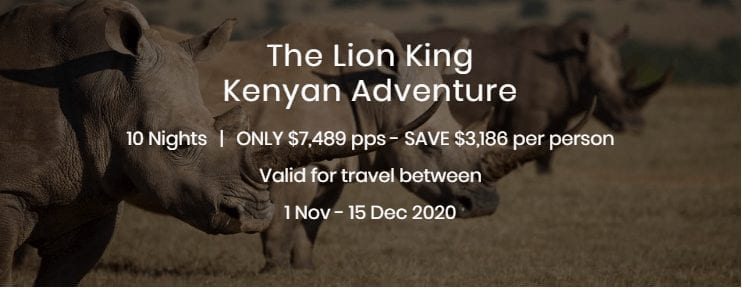 The Lion King Kenyan Adventure
