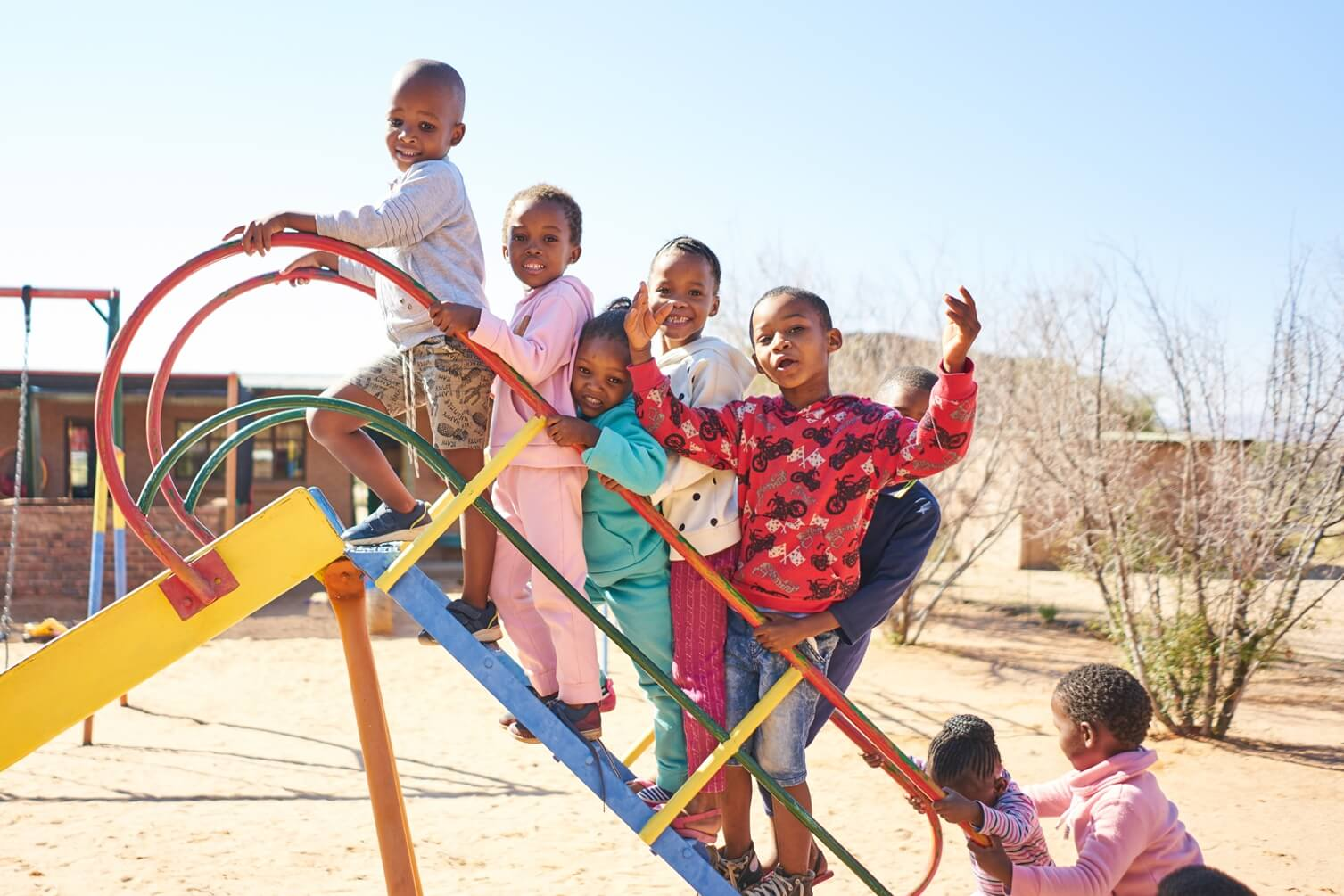 Tswalu supporst a local school within the community
