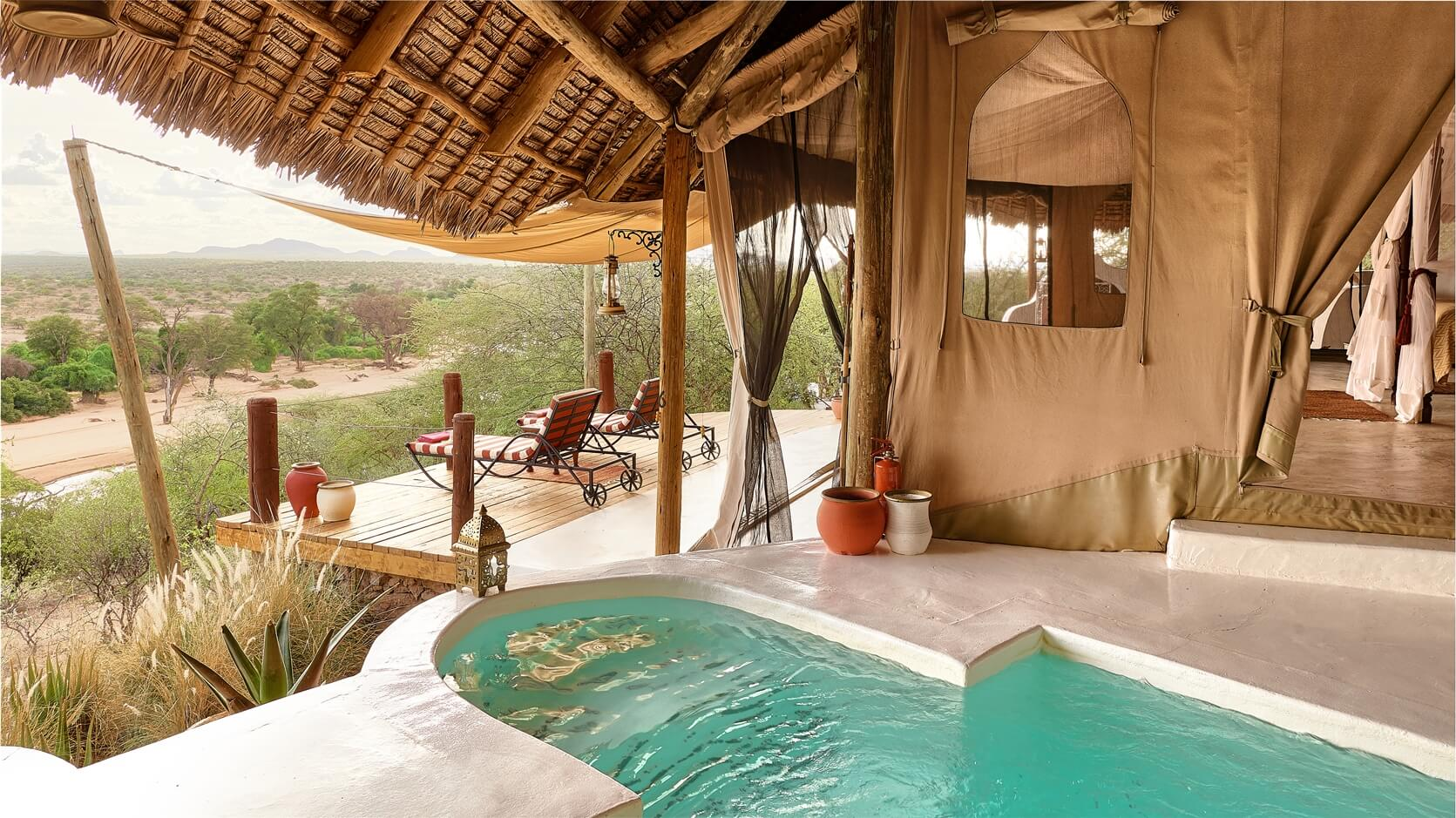 sasaab lodge private plunge pools